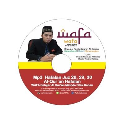 21 DVD Hafalan Juz 28, 29, dan 30
