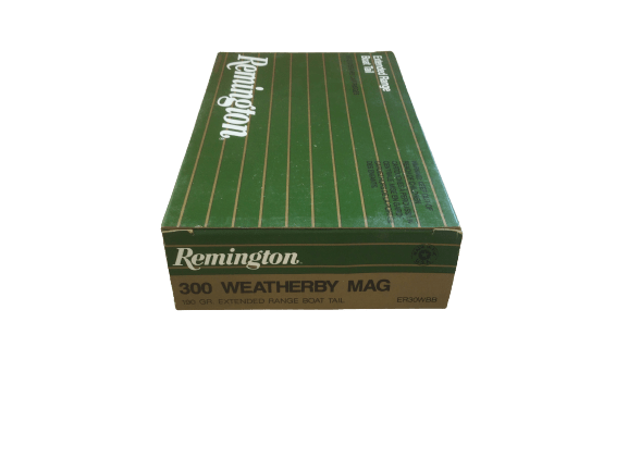 Munitionspackung 20 Schuss Remington 300 Weatherby Mag.