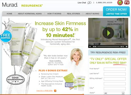 Resurgence Skin Care Reviews