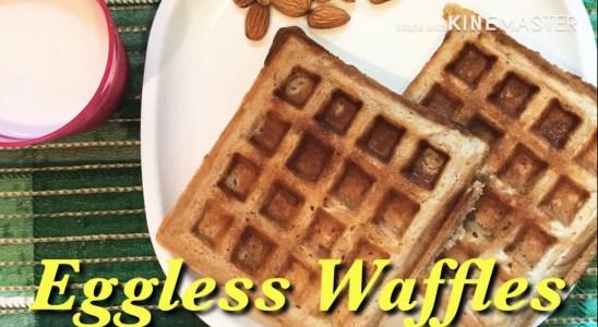 Eggless Waffles | Easy & Yummy | Life Around NN