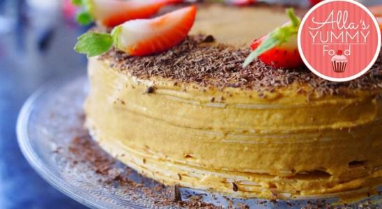 RUSSIAN WAFFLE CAKE RECIPE   EASTER RECIPES
