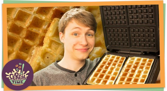 3 AMAZING Waffle Recipes | Cereal Time