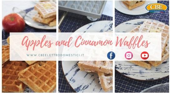 Apples and Cinnamon Waffles. Waffle Machine n. 5040200