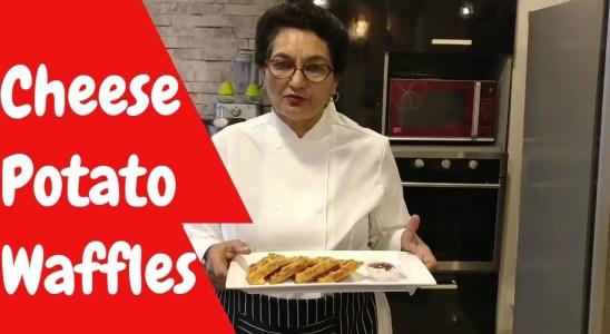 Cheese Potato Waffles | Best Evening Snack | Ramni Ralhan