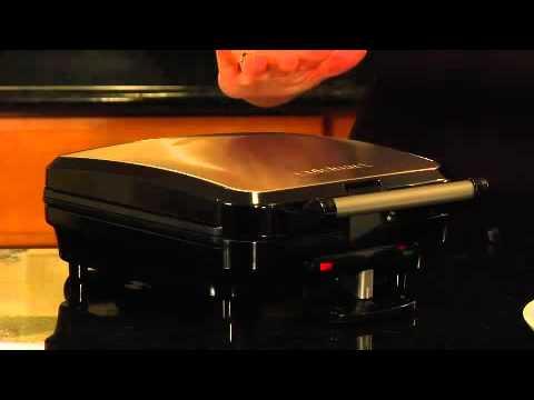 Cuisinart 4-Slice Belgian Waffle Maker (WAF-100) Demo Video