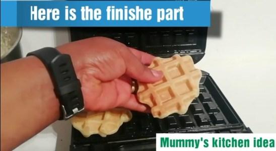 Easy homemade waffles Recipe | mummy's kitchen idea