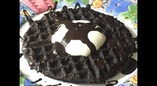 Easy to Make Chocolate Waffles
