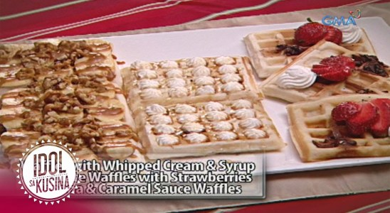 Idol sa Kusina recipe: Waffle Overload from Dessert Department