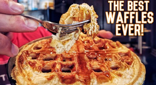 Low Carb Protein Packed Power Waffles | Double Seal Approved