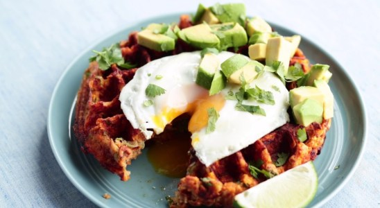 Recipe: Savory Sweet Potato Waffles (Paleo)