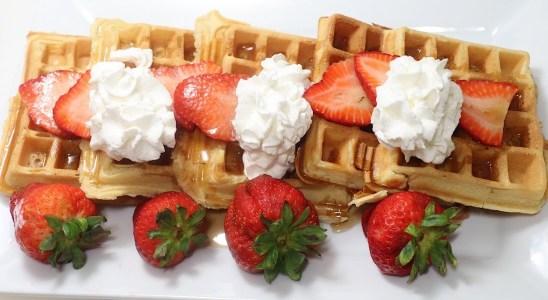 The Best Homemade Waffles   My Seventeenth Video   Dada's FoodCrave Kitchen