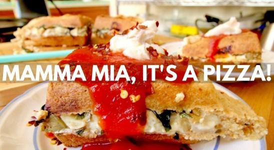 Vegan Pizza Waffle Recipe