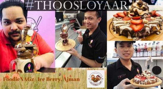FoodieNAGz | Ice Berry, Ajman | Ice Cream | Monster MilkShake | Crazy Shake | Crepes | Waffles