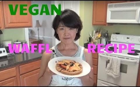 Healthy Vegan Waffle Recipe