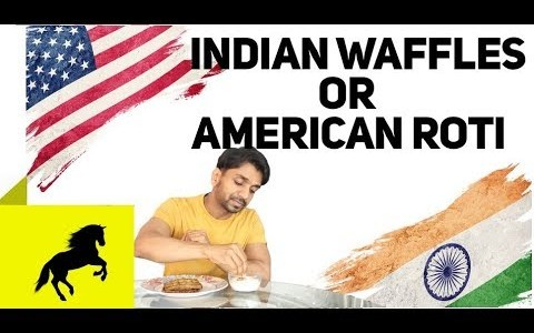 Indian Waffles or American Roti by Indian Cowboy - Waffles recipe