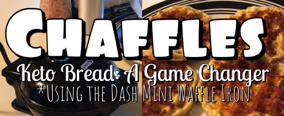 Keto Chaffles | Using the Dash Mini Waffle Iron