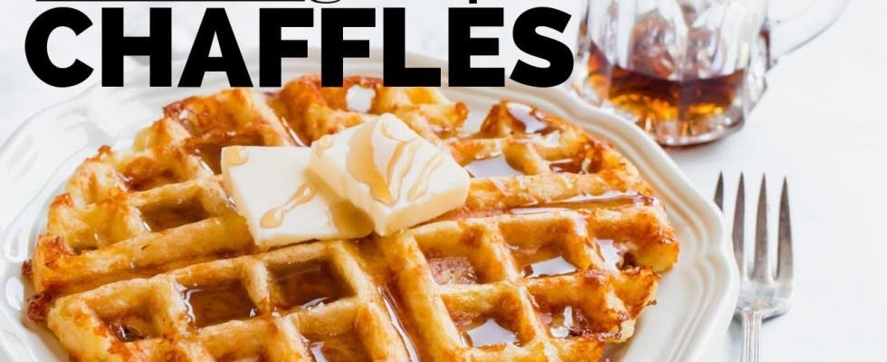 SIX CHAFFLE RECIPES | How to Make Chaffles | KETO WAFFLE | PAFFLE