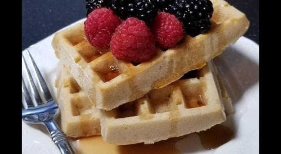 Waffle recipe without waffle maker II Rokeya's cooking