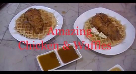 Amazing Chicken & Waffles Recipe/Frankie Meatball