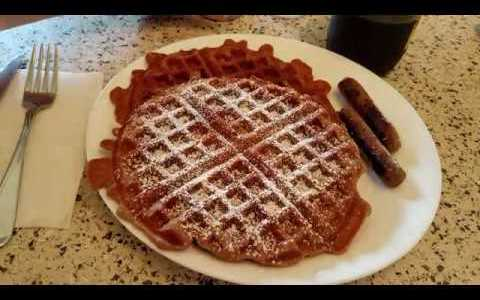 Apple Spice Buttermilk Waffles: Recipe & Demo