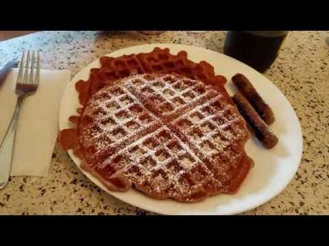 Apple Spice Buttermilk Waffles: Recipe & Demo
