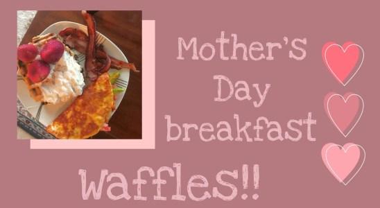 Food Vlog O1: Chocolate Chip waffles