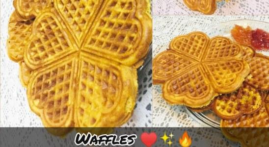 HomeMade Waffles - Recipe By Maryum #waffle #recipe #maryum