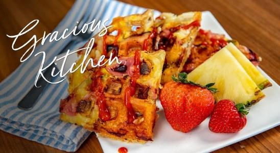 Savory Waffles Recipe   Market of Choice Gracious Kitchen with Mindy Lockard