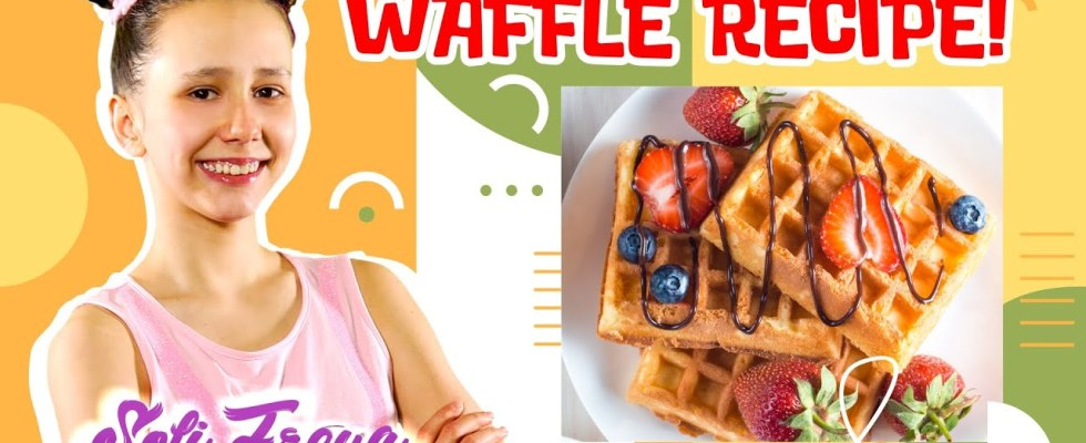 10 minute Cooking Delicious  Belgian Waffles at Home!  waffle recipe