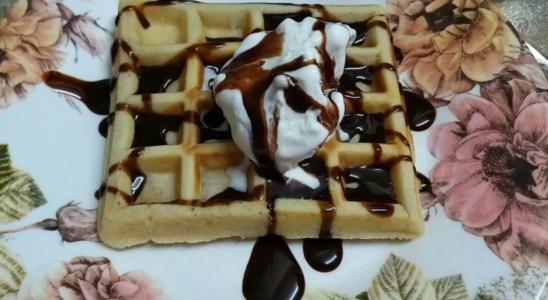 Easy homemade waffles recipe    zeb cooking