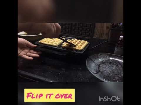 Easy waffles recipe part 3