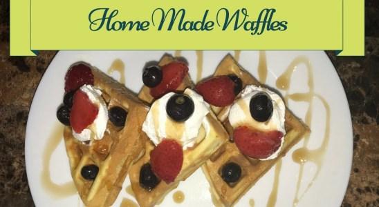 Homemade Waffle Recipe || Quick & Easy Waffle Recipe || How to make waffles at Home