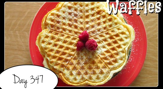 Waffles Recipe by Laura Vitale [Food Challenge: DAY 347]