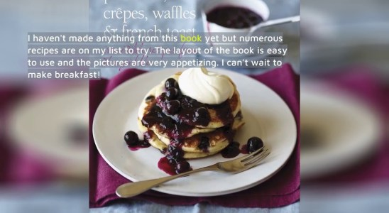 Best Reviews - Pancakes, Crepes, Waffles and French Toast: Irresistible recipes from the griddl...
