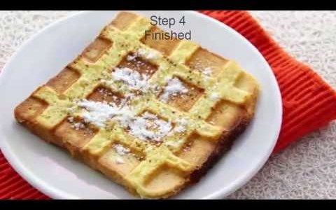 French Toast Waffles recipe | How to Make French Toast Waffles