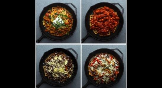 Loaded Potato Waffles 4 Ways | Twisted Recipes