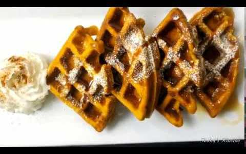 Quick and Easy: Pumpkin Spice Waffles Recipe