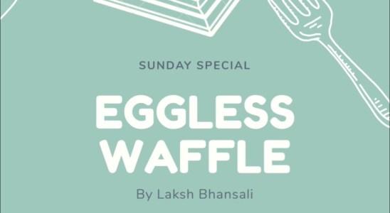 Veg Belgian Waffles Recipe | Eggless Waffle Recipe | #jainwaffle #egglesswaffle #crispywaffle