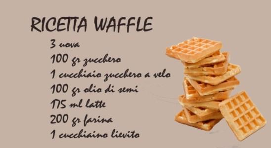 Kitchen Pills - Waffles Recipe