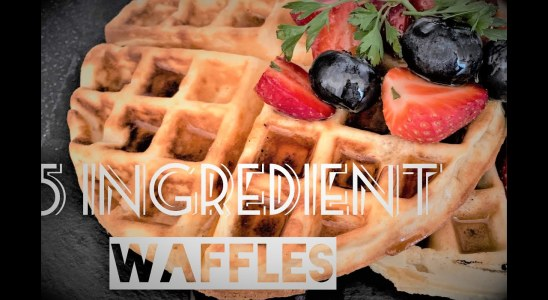 THE BEST WAFFLE RECIPE EVER