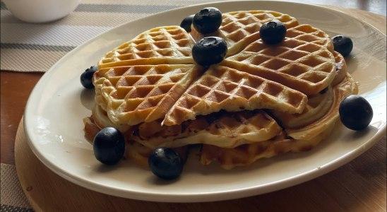 Waffle recipe - perfect & fluffy waffle recipe