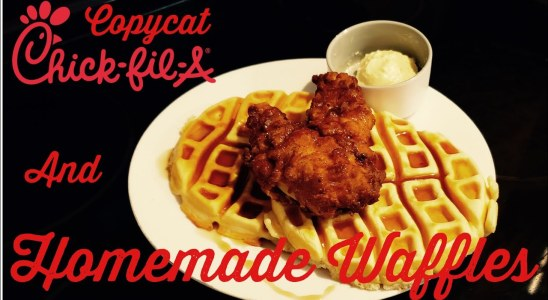 Chicken and Waffles | Time Lapse Down South Recipes