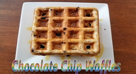 Chocolate Chip Waffles | Food Court
