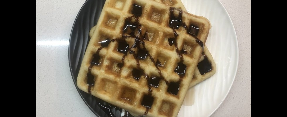 Crispy Waffles Easy Recipe | Waffles | Homemade Waffles | Quick Recipe for Waffles