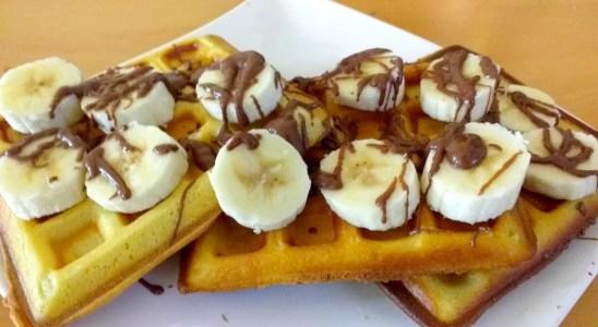Easy Homemade Waffles Recipe - How to make Waffles