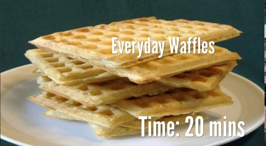 Everyday Waffles Recipe