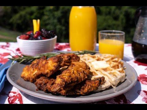 Farmer Focus Simple Recipe | Chicken & Waffles