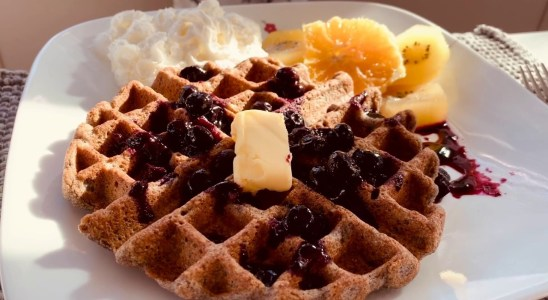 Healthy Belgian Waffles Recipe