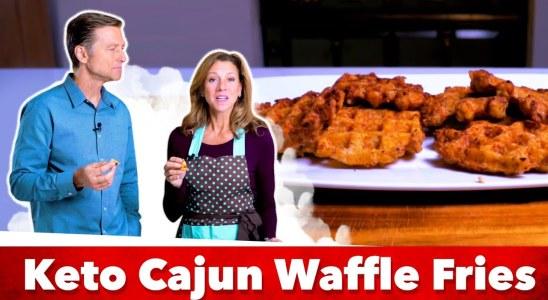 Keto Cajun Waffle Fries Recipe | Eric and Karen Berg