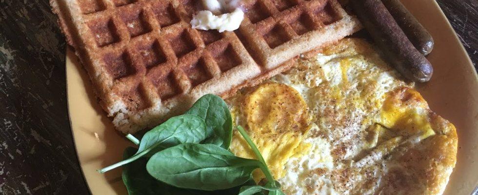 "Keto ""Workout"" Waffles  Recipe"